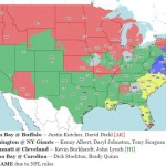 NFL Week 15 Viewing Maps