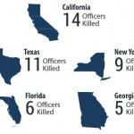 Mapping the Death of Police Officers in America