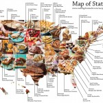 Mapping the 50 State Favorite foods – Top State Dishes from the Cooking Channel