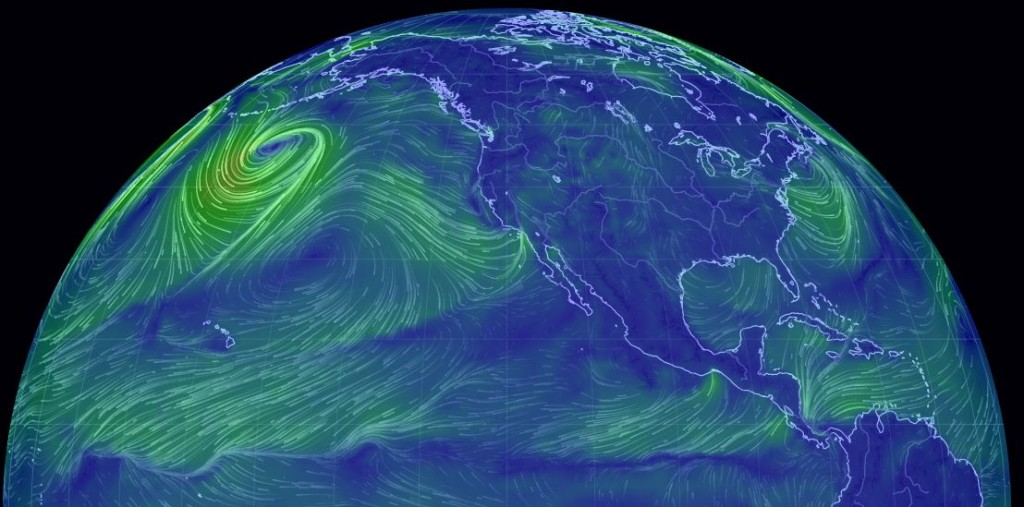 Watching the Global wind patterns on the EarthWindMap is so awesome..