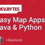 Developer Video Tip – Easy Maps Apps in Java and Python
