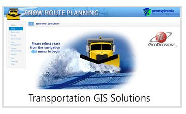 GeoDecisions Plows Ahead with PennDOT GIS Enhancements
