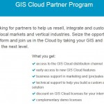 GIS Cloud releases official Partners Program