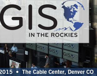 GIS in the Rockies 2015