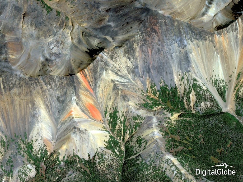 DigitalGlobe's fourth annual Top Satellite Image of the Year contest