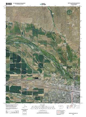 New Nebraska Topo Maps from USGS Feature Trails