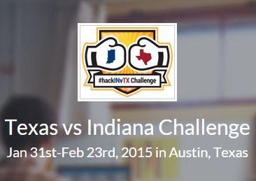 Indiana v Texas hackathon
