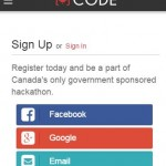 Canadian Open Data Experience {CODE} 2015