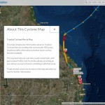 Cyclone map details emerging crisis situation