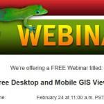 Free Webinar – LizardTech's Free Desktop and Mobile GIS Viewers
