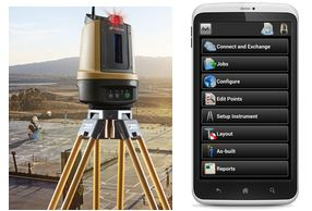 Topcon introduces Android app for LN-100 Layout Navigator
