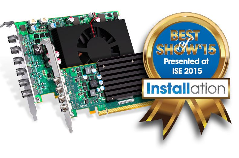 Graphics Cards Win Best of Show Award