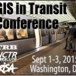 GIS in Transit Conference – Improving Public Transit with GIS