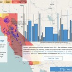 Data Tip – California Drought Visualization website