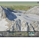 Professor in Alaska Maps Impacts of Climate Change on Cesium-Based 3D Globe