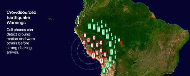 Researchers Test Smartphones for Earthquake Warning