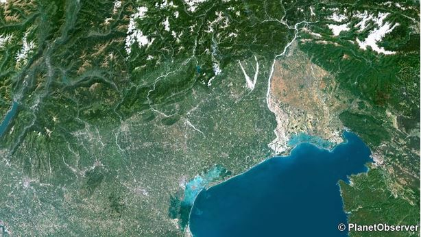 Partners With PlanetObserver To Provide Global Satellite Imagery - Satellite height map