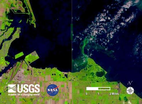 Multiple Satellite Eyes to Track Algal Threat to U.S. Freshwater