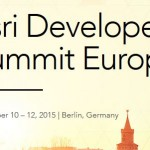 Dev Tip – Esri Developer Summit Europe @EsriDevSummit