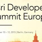 Dev Tip – Esri Developer Summit Europe @EsriDevSummit