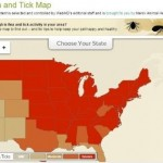 Interactive Map displays U.S. flea and tick activity in real time, and offers state-by-state search capability
