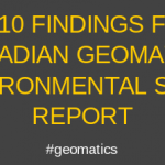 Data Visualization Recognizes State of Canada's Geospatial Industry