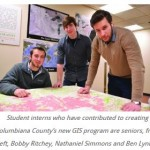 Interns Gain Experience, Create Digital Mapping System for County