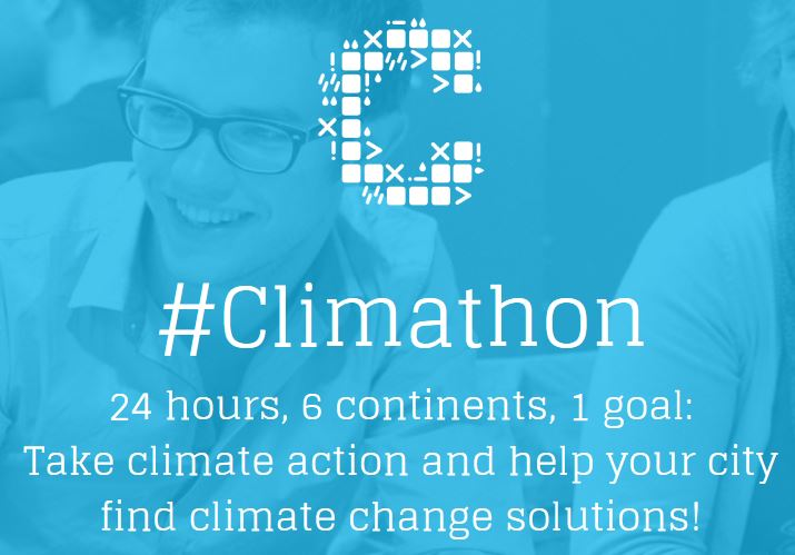 Climathon: Major Cities Across 6 Continents Unite for 24-Hours to Find Climate Change Solutions