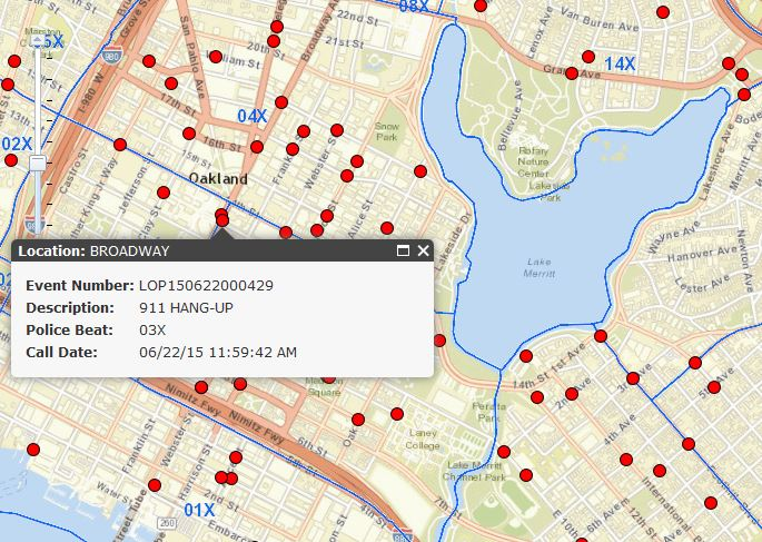 Real Time 911 >> City Of Oakland S Real Time Crime Map Advances Transparency