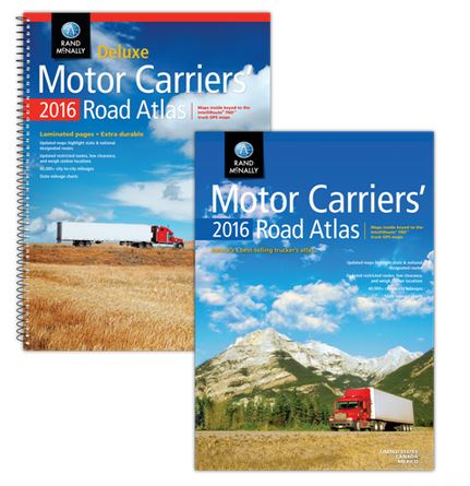 Rand McNally Publishes 35th Edition of Atlas for Commercial Drivers