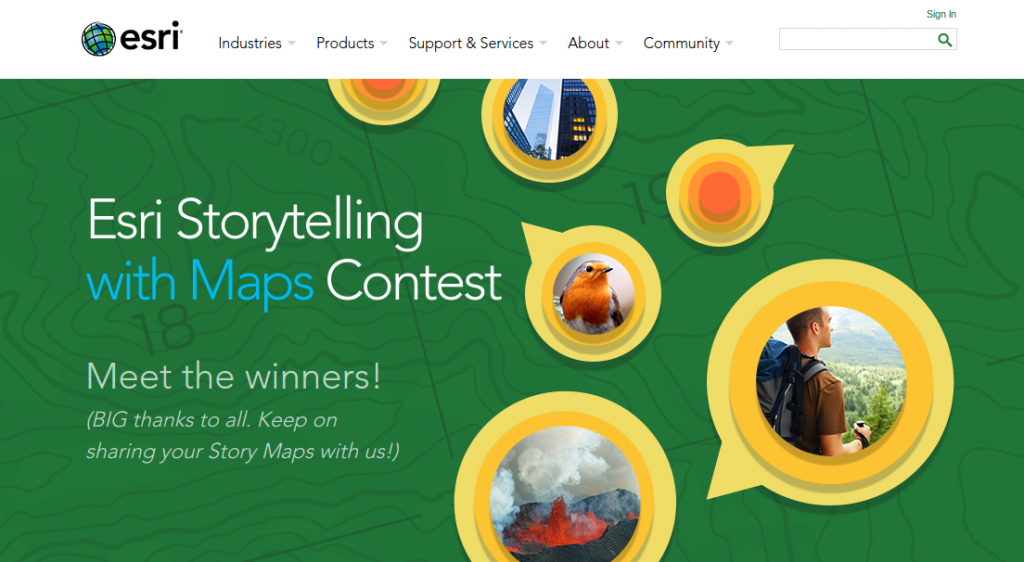 City of Boston Takes Grand Prize in Storytelling with Maps Contest