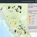 Wildfires in British Columbia (Story Map) – How many are caused by Humans?