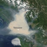 Satellite Sees Smoky Skies Over World Cup Soccer – Fire and Smoke Cover SW British Columbia