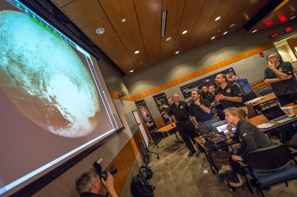 NASA's Three-Billion-Mile Journey to Pluto Reaches Historic Encounter