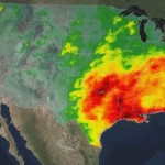 NASA DataViz - A Tale of Two Extremes: Rainfall Across the US