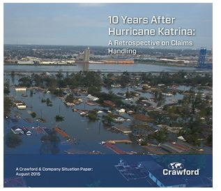 Crawford® Issues Hurricane Katrina Whitepaper on Storm's Ten-year Anniversary