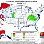 National Significant Wildland Fire Potential Outlook through November 2015