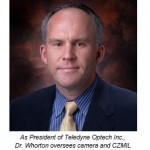 Dr. Mark Whorton to manage US operations as President of Teledyne Optech, Inc.