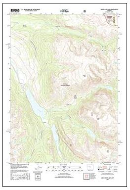 New Cowboy State Maps Add US Forest Service Data - Us forest service topographic maps