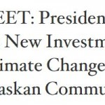 Esri Supports White House Initiatives to Combat Climate Change and Map Alaska and the Arctic