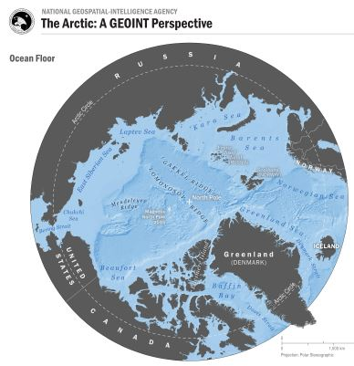 NGA provides unclassified geospatial intelligence for the Arctic