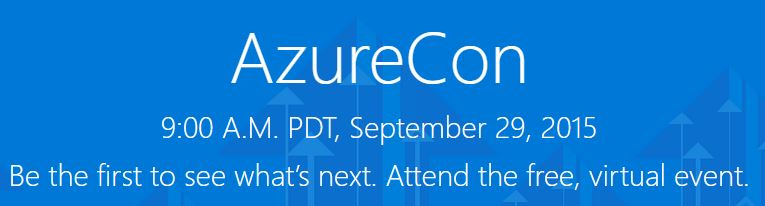 Free, One day Event, AzureCon