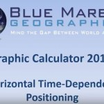 Video Tip – Geographic Calculator 2015 SP1 – Time Dependant Transformations