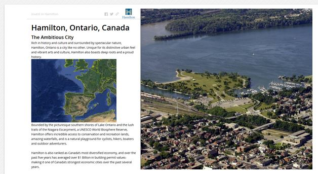 City of Hamilton Recognized for Increasing Efficiency Using Geospatial Technology