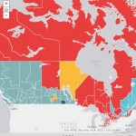 Story Map Answers: How have Canadians voted in the past 5 federal elections?