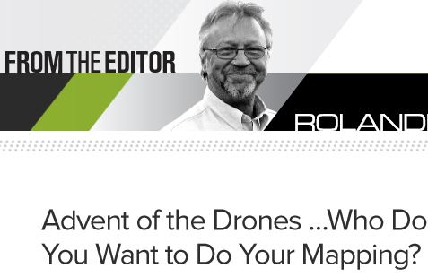 Advent of the Drones ...Who Do You Want to Do Your Mapping?