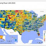 GfK's Map of the Month – Purchasing power USA