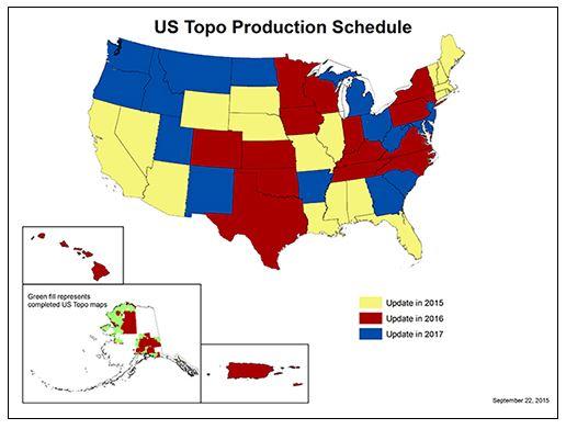 US Topo Maps Reach Milestone