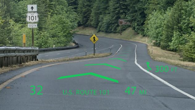 First Holographic Navigation System