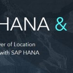 Esri's ArcGIS to Support SAP HANA® as Enterprise Geodatabase, Deepening Integration Across Products